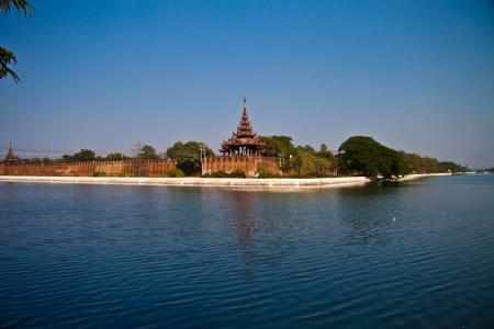 king palace: Mandalay - Glaspalast - King palace