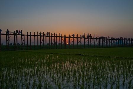 U Bein bridge Mandalay