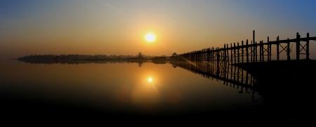 U Bein bridge Mandalay - Sunset