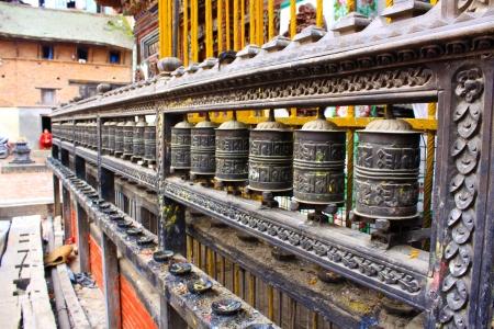 buddhismus: Swayambhunath Stupa - Kathmandu Stock Photo