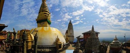 buddhismus: Swayambhunath