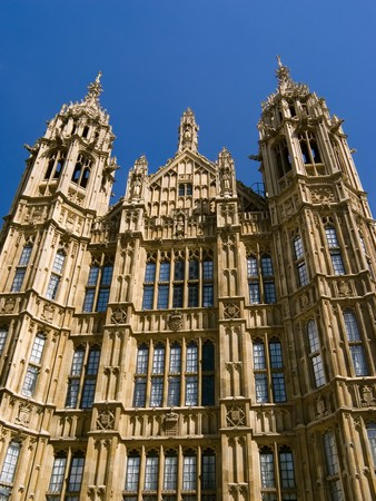 palace of westminster: Parliament House - Palace of Westminster London Stock Photo