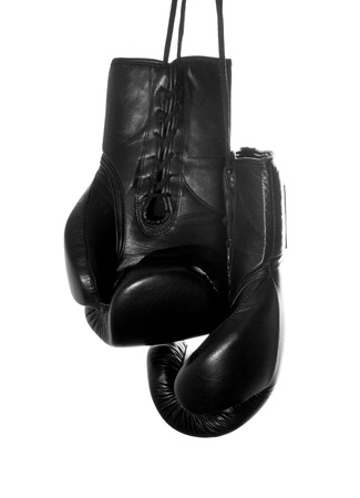 Hanging Boxing Gloves photo