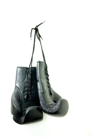 Hanging Boxing Gloves photo