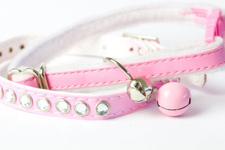 Pink Cat Collar Stock Photo - 18293441