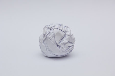 Screwed Up Paper Ball photo
