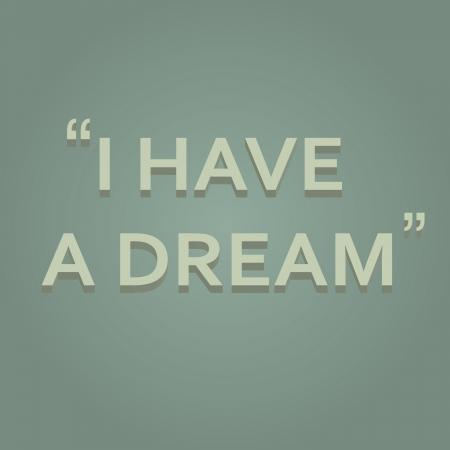 martin: I Have A Dream Stock Photo