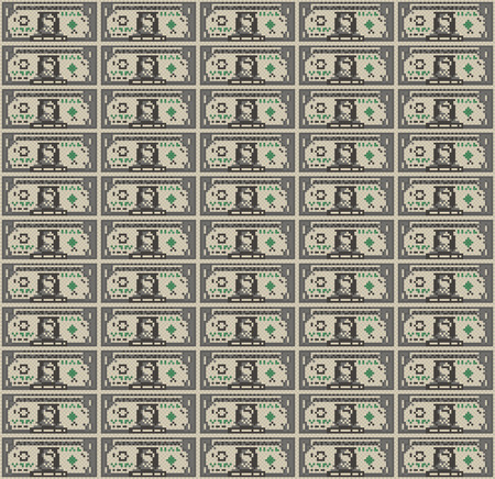 one dollar bill: Dollar Bill Wallpaper