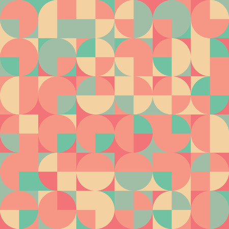 vintage wallpaper: Abstract Pixel Background Illustration