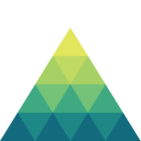 triangular shape: Abstract triangular shape vector Illustration