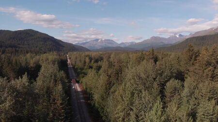 Wild Alaska Stock Photo