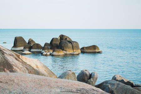 Rocks in the sea in Koh Samui