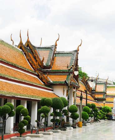 Wat Sutat temple in Bangkok