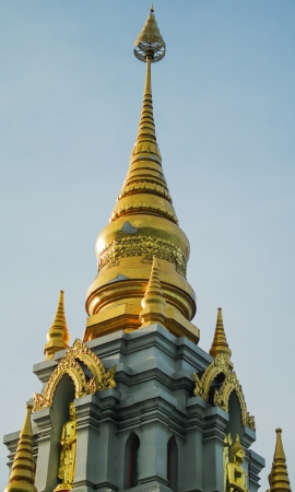 The top of the temple in Mae Salong, Chiang Rai