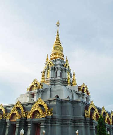Temple in Mae Salong, Chiang Rai Stock Photo
