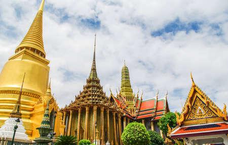 Wat Prakaew in Bangkok, Thailand Stock Photo