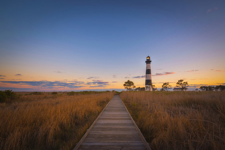 Sunset at the Outer Banks in North Carolina