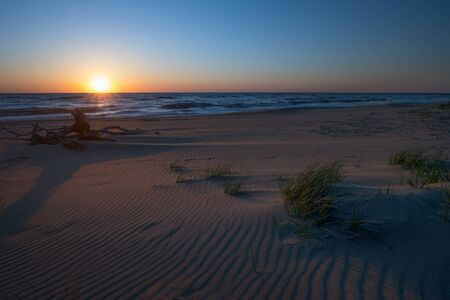 Sunrise at Back Bay National Wildlife Refuge in Virginia