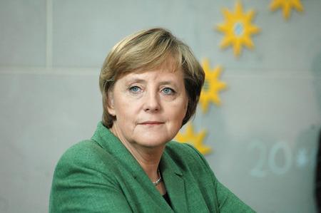 24. Mai 2006 - BERLIN: Bundeskanzlerin Angela Merkel bei einem Empfang für die Mitglieder des PEN-Kongress in Chanclery in Berlin.