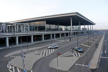 ber: Impressionen - Flughafen BER, Berlin.