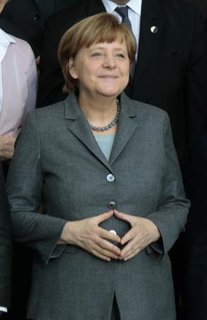 BKin Angela Merkel - deutsch-franzoesische Regierungskonsultationen, Bundeskanzleramt, 31. Maerz 2015 in Berlin.