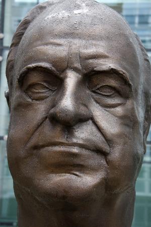 kohl: Portrait Bust of Chancellor Helmut Kohl.