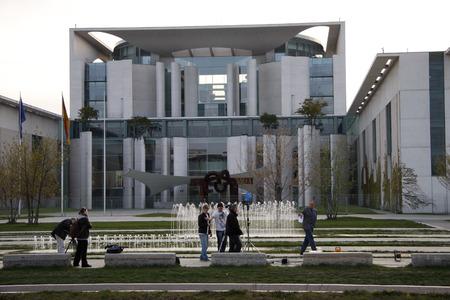 chancellery: Federal Chancellery, Berlin-Tiergarten.