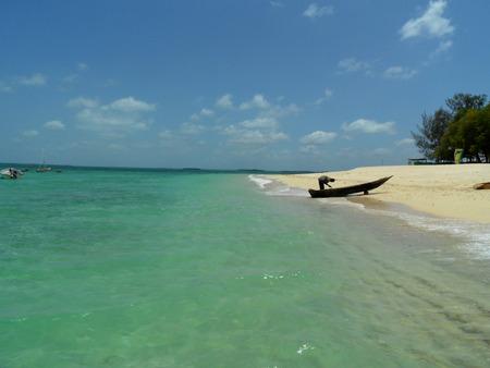 zanzibar: FEBRUARY 2012 - TANZANIA: beach in Zanzibar, Tanzania, Africa.