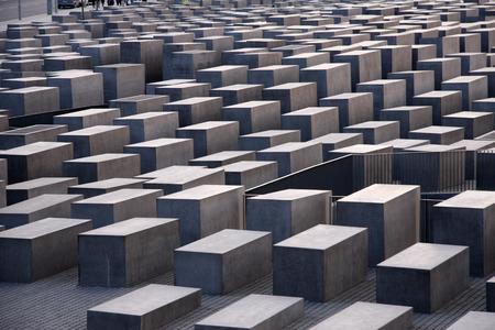 holocaust: Holocaust Memorial, Berlin-Mitte.