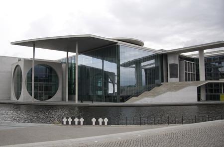 parliamentary: MARCH 2008 - BERLIN river Spree, parliamentary building  Marie-Elisabeth Lueders House , Berlin-Mitte. Editorial