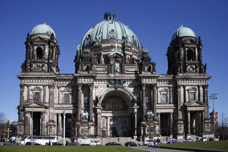 dom: MARCH 2008 - BERLIN: Berliner Dom (Berlin Cathedral), Berlin-Mitte. Éditoriale