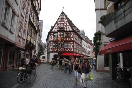 mainz: Augustinergasse, Mainz.