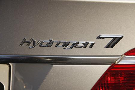 """hidrogeno: 06 2008 - BERLIN: """"Hydrogen 7"""" un sed�n de lujo del fabricante de autom�viles alem�n BMW - Baviera Motor Works, que utiliza hidr�geno como combustible."""