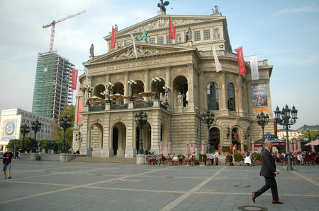alte: Alte Oper, Frankfurt.