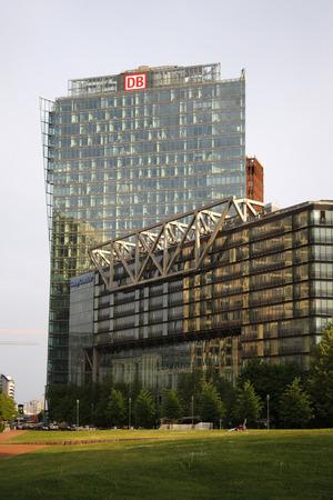 sony: MAY 2008 - BERLIN: Sony Center, Potsdamer Platz, Berlin-Tiergarten. Editorial