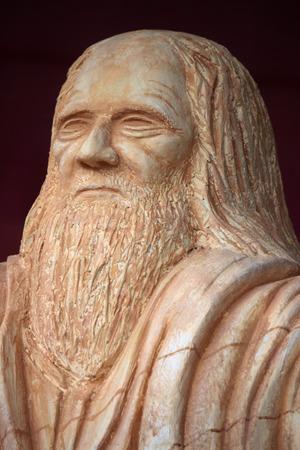 leonardo da vinci: Bust of Leonardo da Vinci, Berlin.