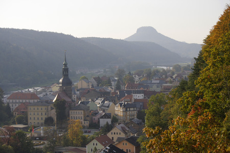 saxon: Bad Schandau - Saxon Switzerland.