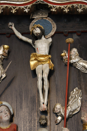 kruzifix: Kruzifix, Ausstellung in Gottorf, Schleswig.