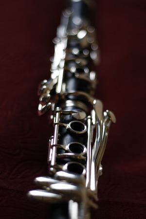 clarinet: Simb�lico del instrumento de m�sica: Clarinete imagen  simb�lico para un instrumento musical: el clarinete.