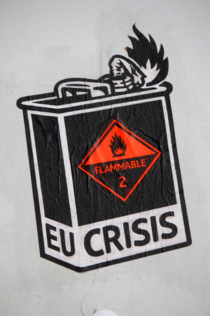 graffity: Graffity:  EU Crisis , Berlin. Editorial