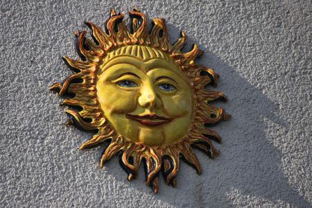 saxon: Solar symbol, Saxon Switzerland.