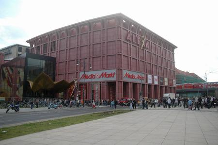 "alexa: the newly-opened its doors department store  ""Alexa "", September 14, 2007, Berlin-Mitte."
