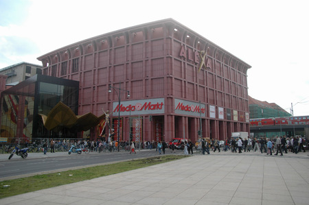 "the newly-opened its doors department store  ""Alexa "", September 14, 2007, Berlin-Mitte."