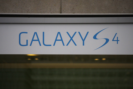 samsung galaxy: Brand Name:  Galaxy S 4  from  Samsung, Nov. 2013 Berlin.