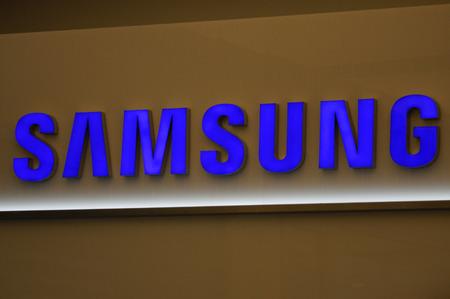 samsung: Brand Name: Samsung, Nov. 2013 Berlin. Editorial
