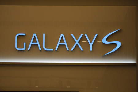 samsung galaxy: Brand Name:  Galaxy S 4  from  Samsung , Nov. 2013 Berlin.