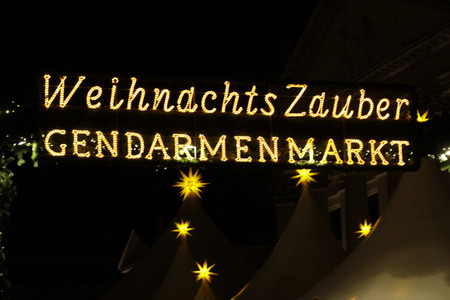weihnachtsmarkt: Christmas Market Christmas magic , Gendarmenmarkt, Nov. 2013 Berlin.
