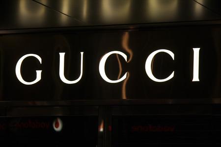 gucci: Brand Name:  Gucci, Nov. 2013 Berlin.