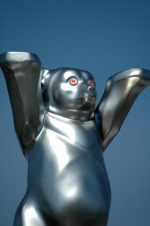 buddy: Silver Buddy Bear. Editorial
