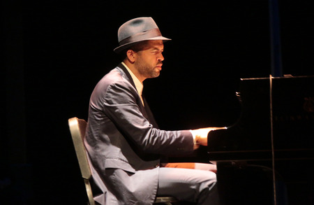 bandwagon: Jason Moran - appearance of  Jason Moran and the Bandwagon  Berlin Jazz Festival, November 2, 2014 in Berlin. Editorial